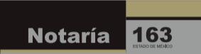 Notaria 163